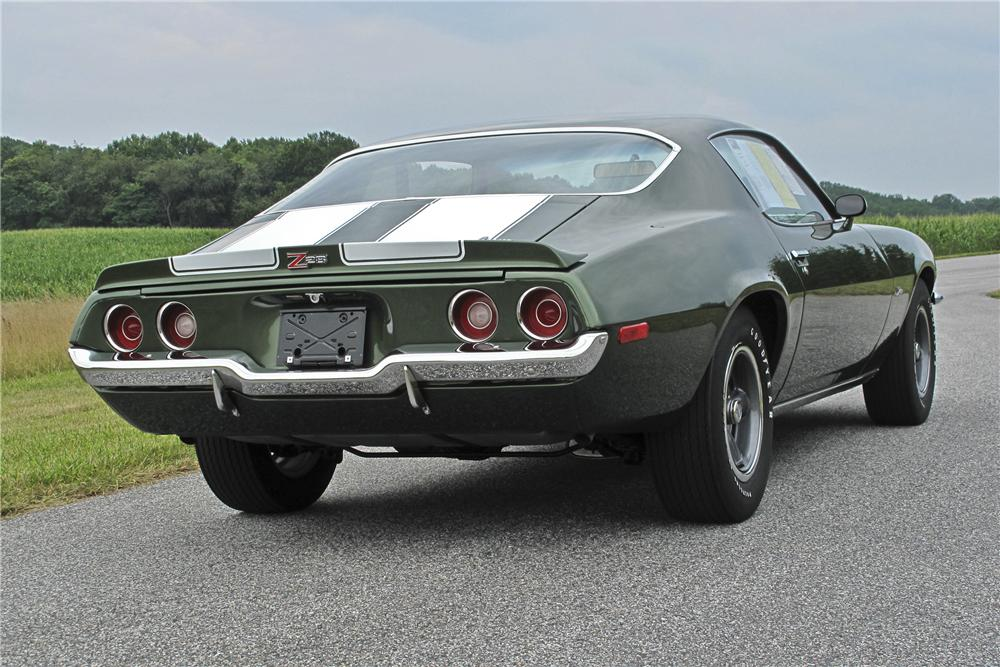 1970 CHEVROLET CAMARO Z/28 COUPE - Rear 3/4 - 96531