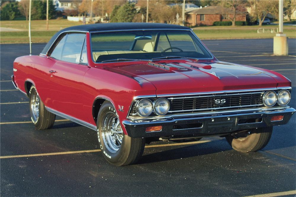 1966 CHEVROLET CHEVELLE SS 2 DOOR COUPE - Front 3/4 - 96534