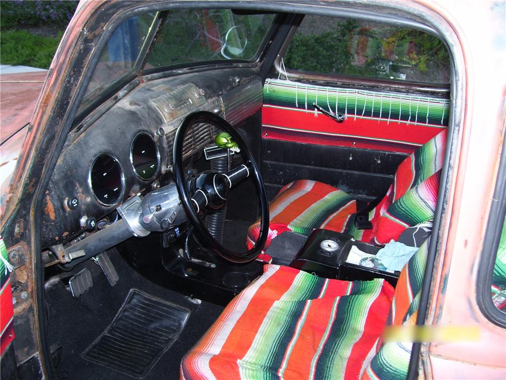 1948 CHEVROLET 5 WINDOW CUSTOM PICKUP - Interior - 96540