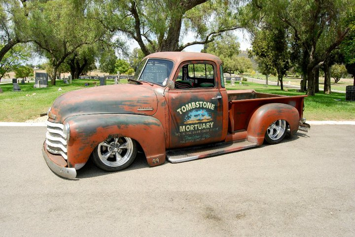 1948 CHEVROLET 5 WINDOW CUSTOM PICKUP - Side Profile - 96540