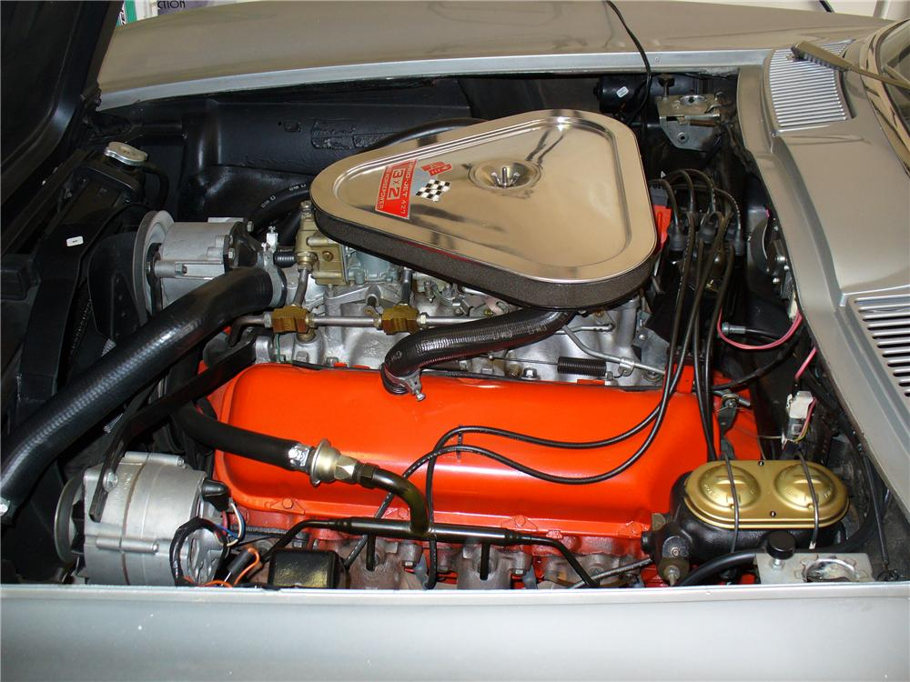 1967 CHEVROLET CORVETTE CONVERTIBLE - Engine - 96545