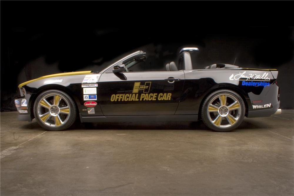 2010 FORD MUSTANG GT PACE CAR CONVERTIBLE - Side Profile - 96553