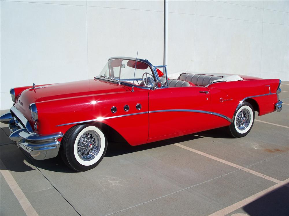1955 BUICK SPECIAL CONVERTIBLE - Side Profile - 96557