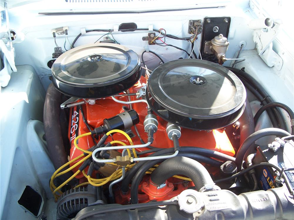 1963 PLYMOUTH SPORT FURY CONVERTIBLE - Engine - 96566
