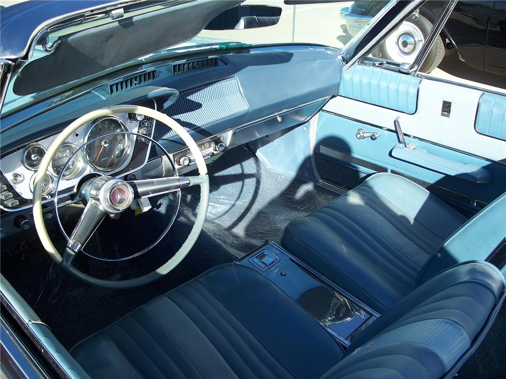 1963 PLYMOUTH SPORT FURY CONVERTIBLE - Interior - 96566