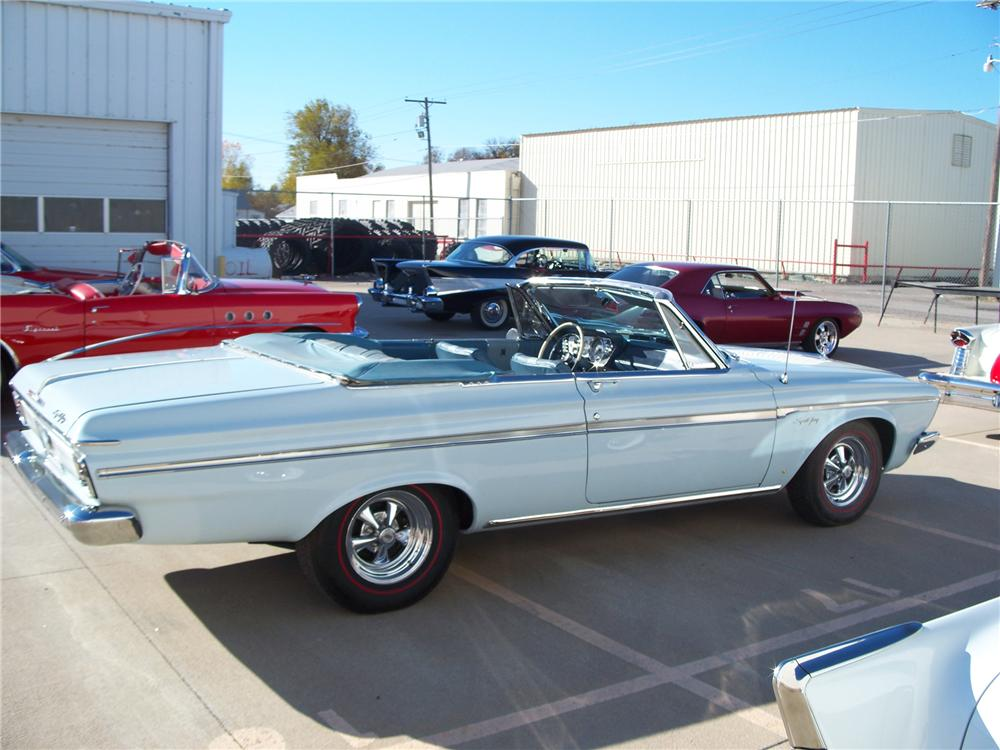 1963 PLYMOUTH SPORT FURY CONVERTIBLE - Side Profile - 96566