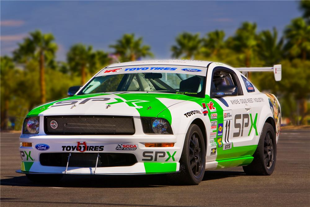 2008 FORD MUSTANG FR500S RACE CAR - Front 3/4 - 96567