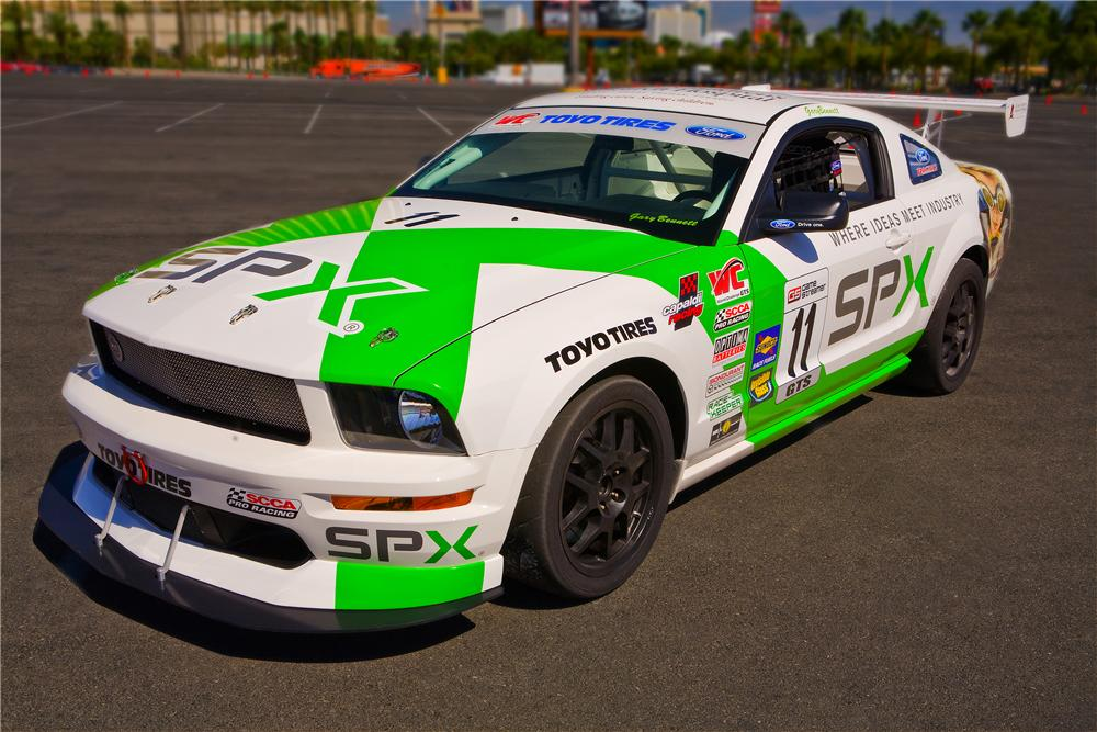 2008 FORD MUSTANG FR500S RACE CAR - Rear 3/4 - 96567