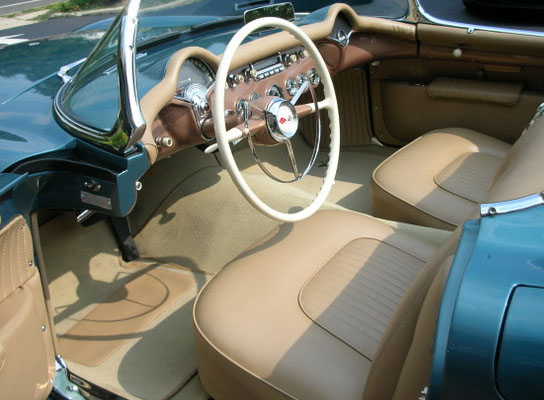 1954 CHEVROLET CORVETTE CONVERTIBLE - Interior - 96572