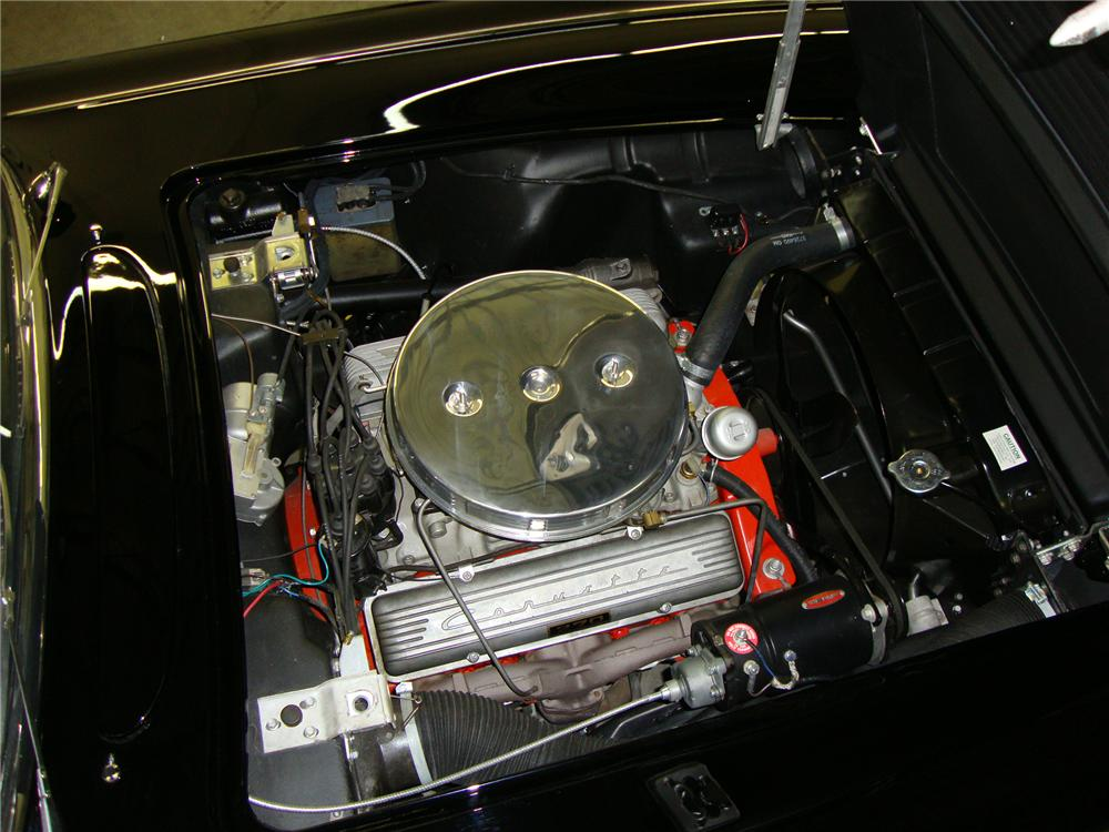 1958 CHEVROLET CORVETTE CONVERTIBLE - Engine - 96573