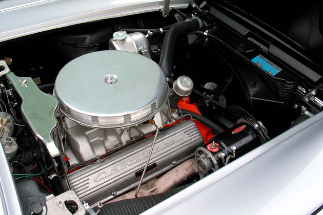 1962 CHEVROLET CORVETTE CONVERTIBLE - Engine - 96575