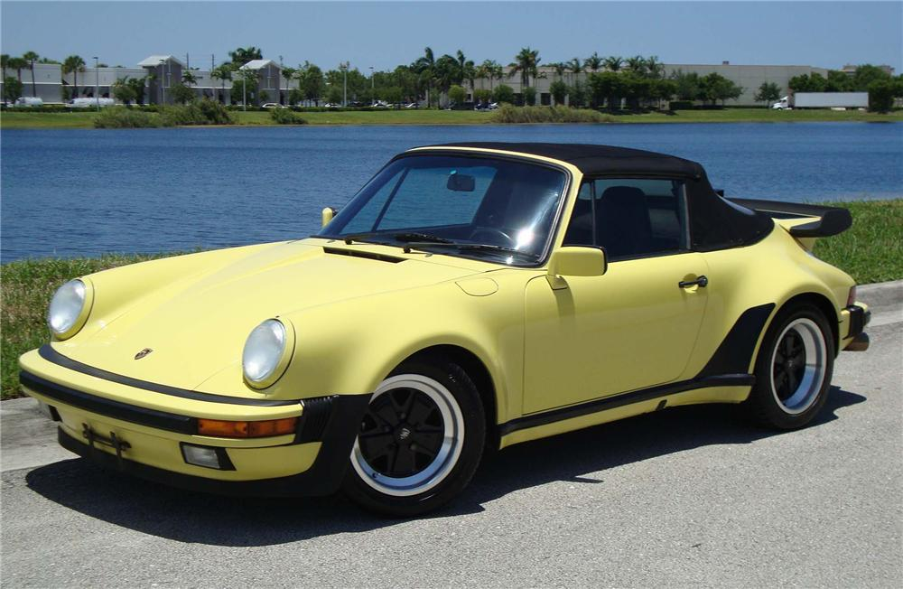 1987 PORSCHE 911 CABRIOLET - Side Profile - 96576