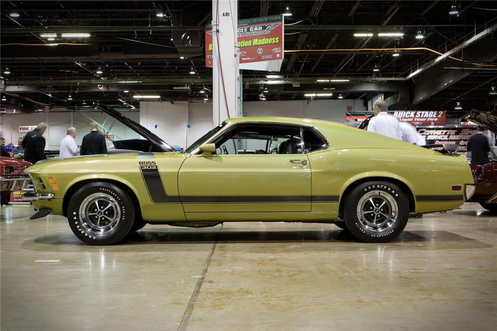 1970 FORD MUSTANG BOSS 302 FASTBACK - Side Profile - 96577