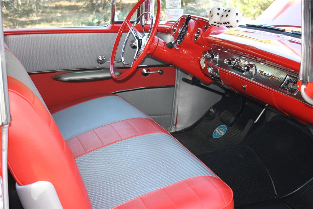 1957 CHEVROLET BEL AIR CONVERTIBLE - Interior - 96581