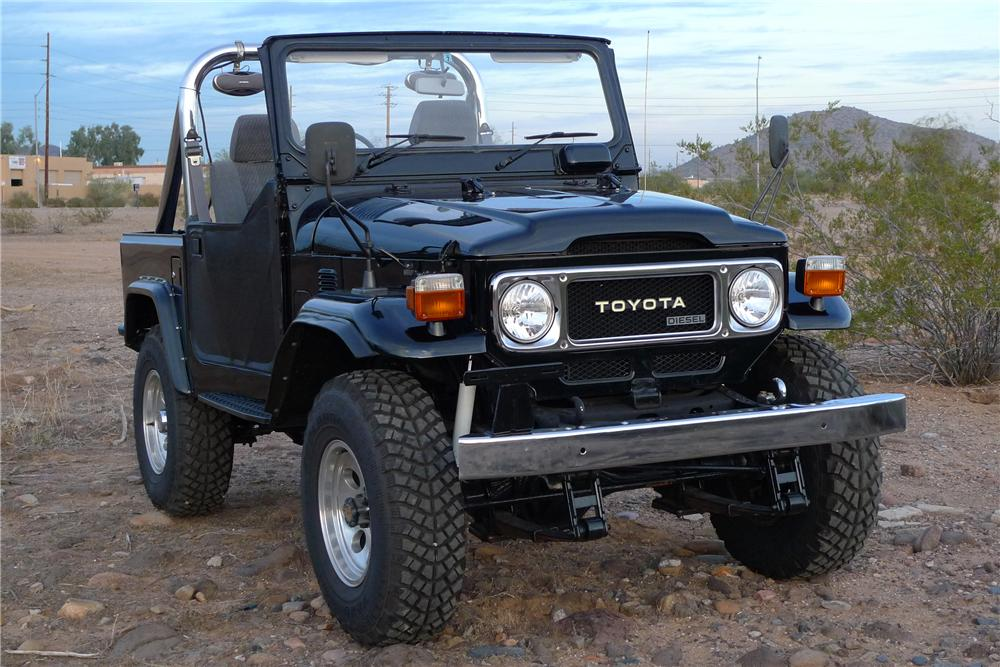 1982 toyota land cruiser custom 4x4 96587. Black Bedroom Furniture Sets. Home Design Ideas