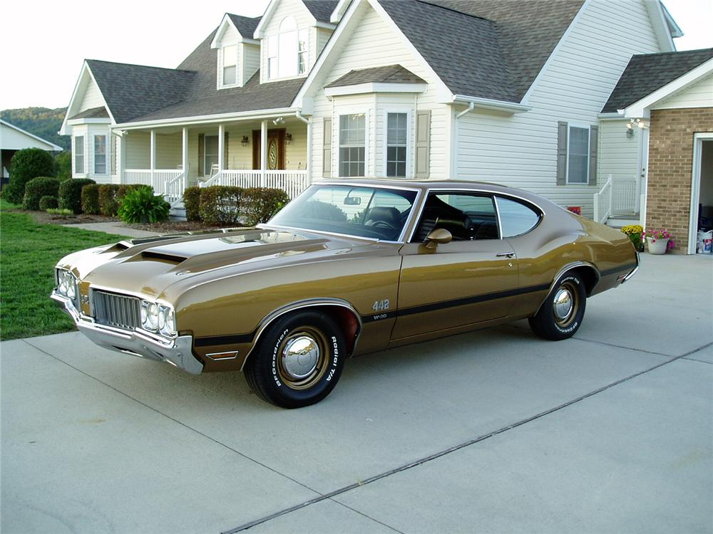 1970 OLDSMOBILE 442 W30 COUPE - Front 3/4 - 96592