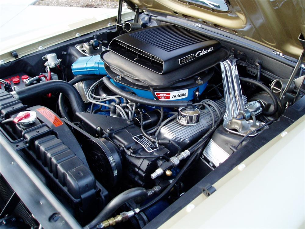 "1969 FORD MUSTANG 428 CJ ""R"" FASTBACK - Engine - 96593"