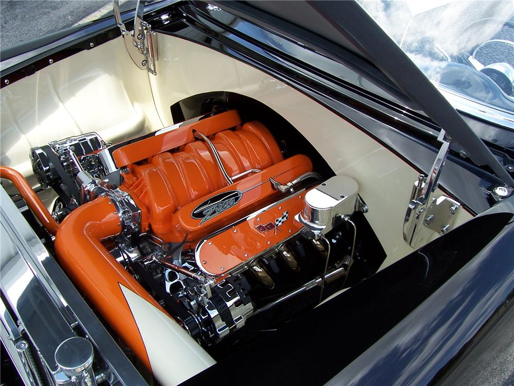 1956 CHEVROLET BEL AIR CUSTOM CONVERTIBLE - Engine - 96599