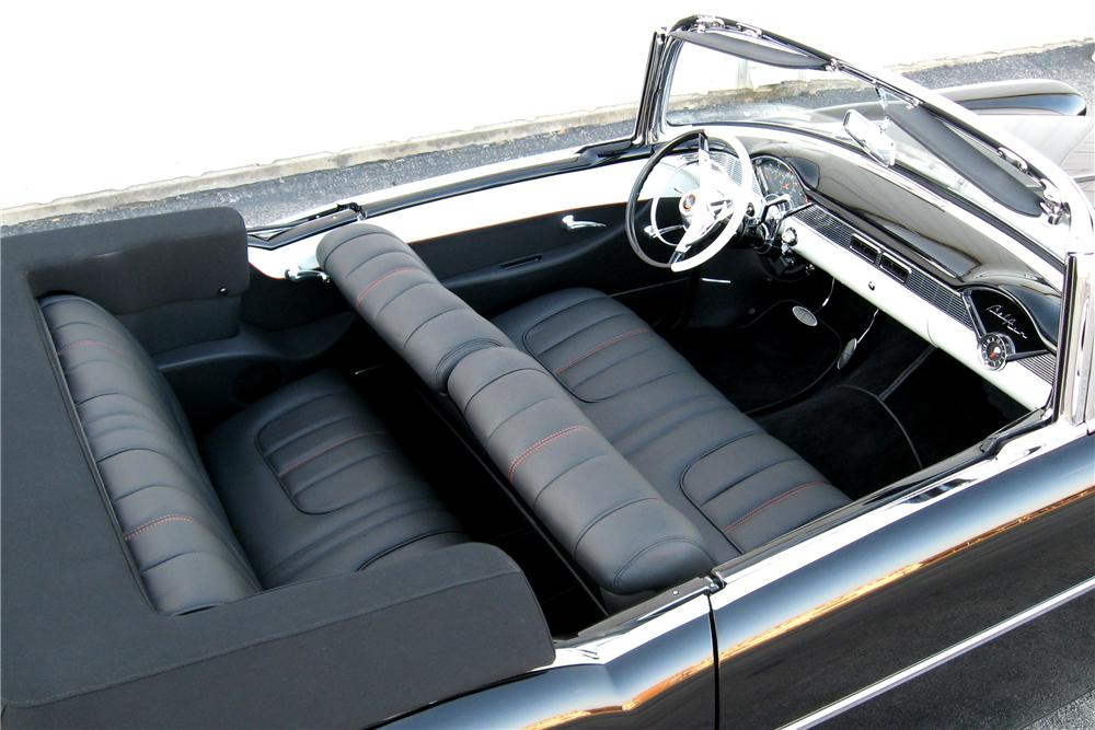 1956 CHEVROLET BEL AIR CUSTOM CONVERTIBLE - Interior - 96599