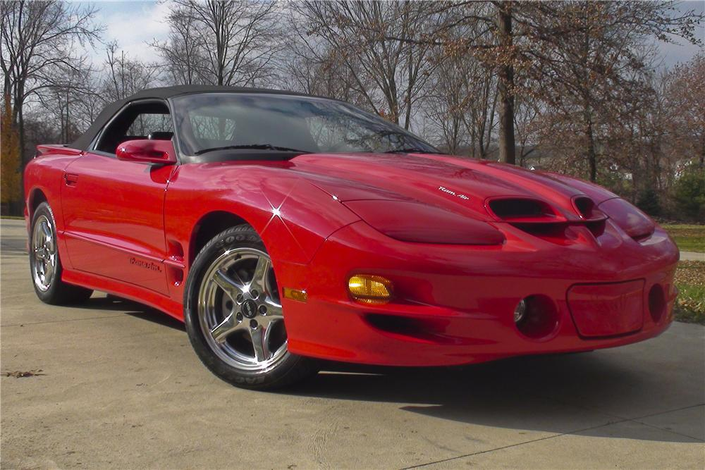 2000 PONTIAC FIREBIRD TRANS AM CONVERTIBLE - Front 3/4 - 96601