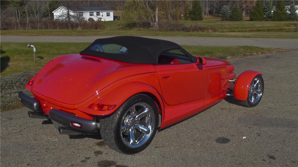 1999 PLYMOUTH PROWLER 2 DOOR COUPE - Rear 3/4 - 96603