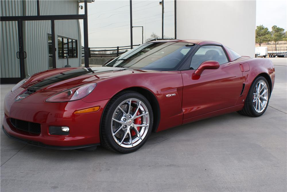 2008 chevrolet corvette le z06 coupe 96609. Black Bedroom Furniture Sets. Home Design Ideas