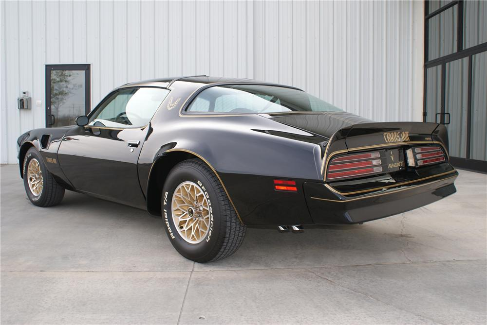 1977 PONTIAC FIREBIRD TRANS AM BANDIT SPECIAL EDITION COUPE - Rear 3/4 - 96611