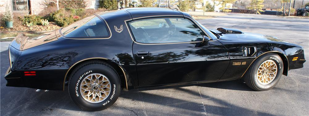 1977 PONTIAC FIREBIRD TRANS AM BANDIT SPECIAL EDITION COUPE - Side Profile - 96611