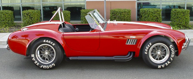 1965 SHELBY COBRA 4000 ROADSTER - Side Profile - 96616