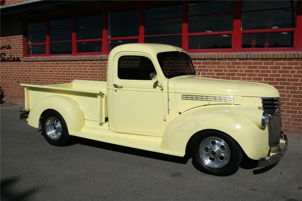 1945 CHEVROLET CUSTOM PICKUP - Side Profile - 96618
