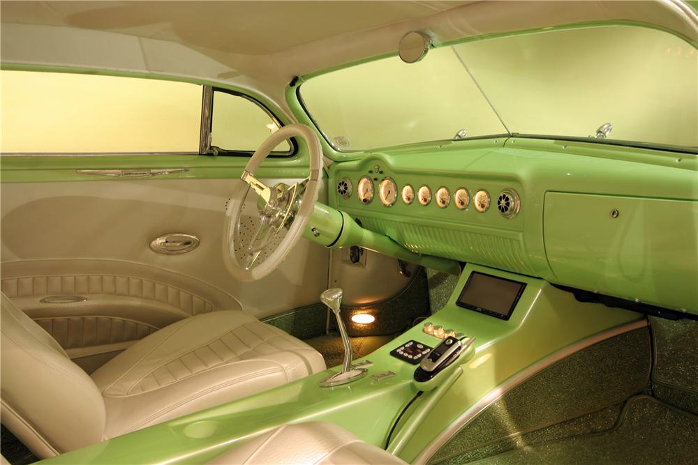 1950 MERCURY CUSTOM 2 DOOR COUPE - Interior - 96619