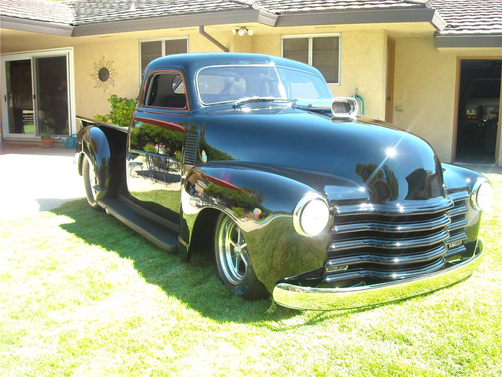 1948 CHEVROLET CUSTOM 1/2 TON PICKUP - Front 3/4 - 96620