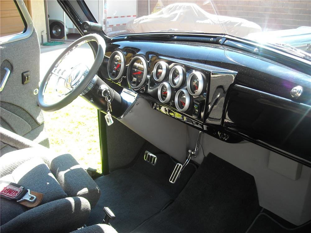 1948 CHEVROLET CUSTOM 1/2 TON PICKUP - Interior - 96620