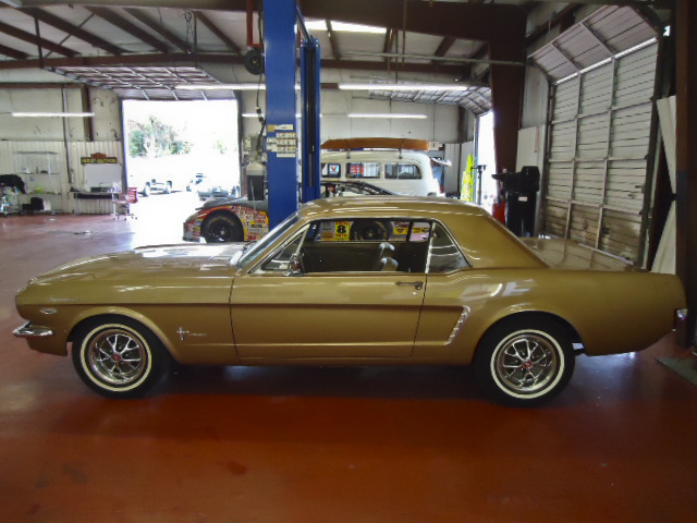 1965 FORD MUSTANG COUPE - Side Profile - 96622