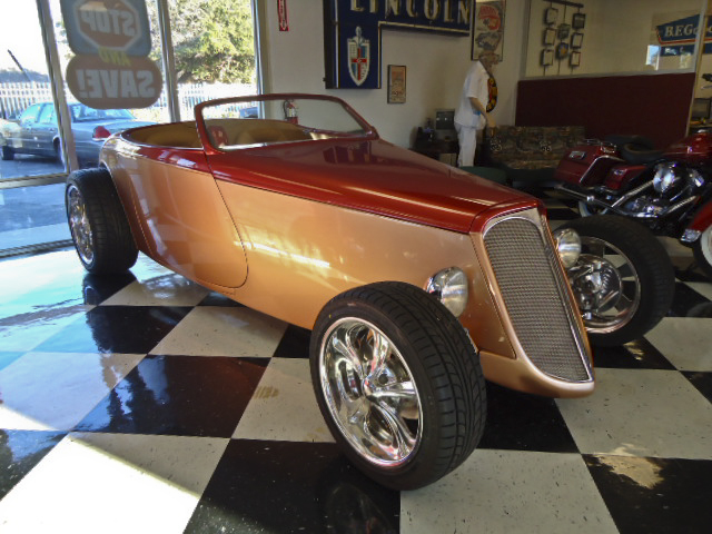 1933 FORD HI-BOY CUSTOM SPEEDSTAR ROADSTER - Front 3/4 - 96624
