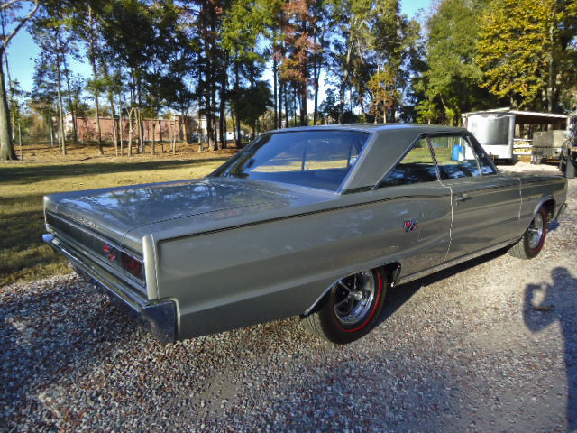 1967 DODGE HEMI CORONET R/T 2 DOOR HARDTOP - Rear 3/4 - 96631