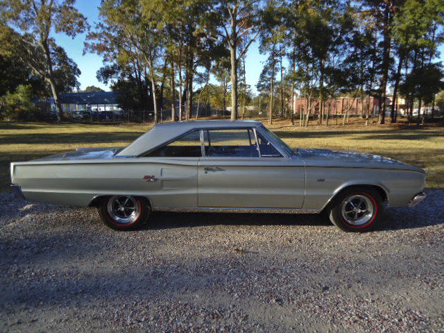 1967 DODGE HEMI CORONET R/T 2 DOOR HARDTOP - Side Profile - 96631