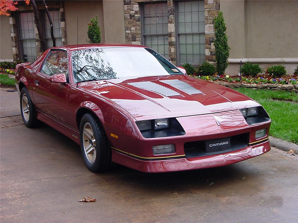 1986 chevrolet camaro iroc z 28 coupe. Black Bedroom Furniture Sets. Home Design Ideas