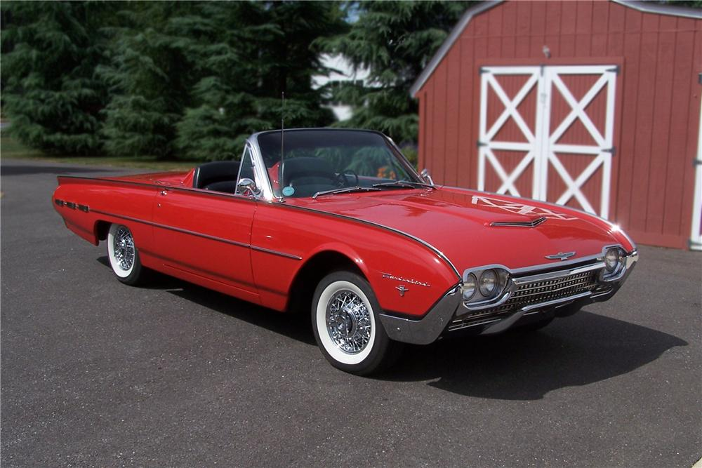 1962 ford thunderbird convertible 96648. Cars Review. Best American Auto & Cars Review