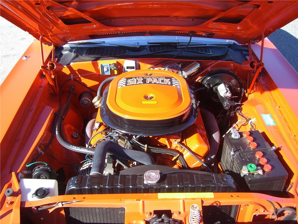 1970 DODGE CHALLENGER R/T COUPE - Engine - 96652