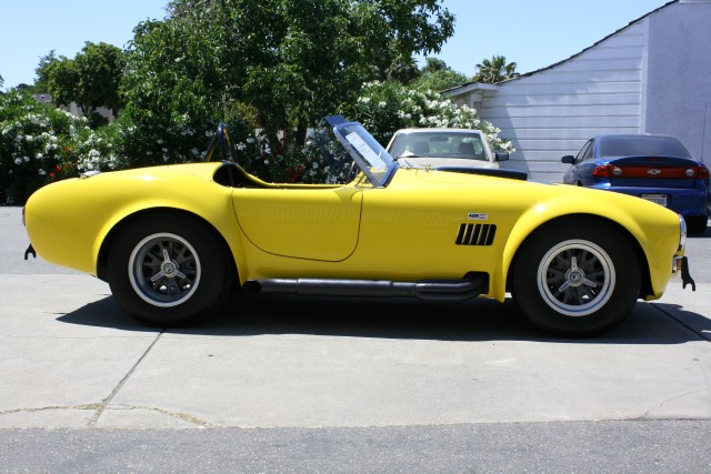 1965 SUPERFORMANCE COBRA REPLICA ROADSTER - Side Profile - 96655