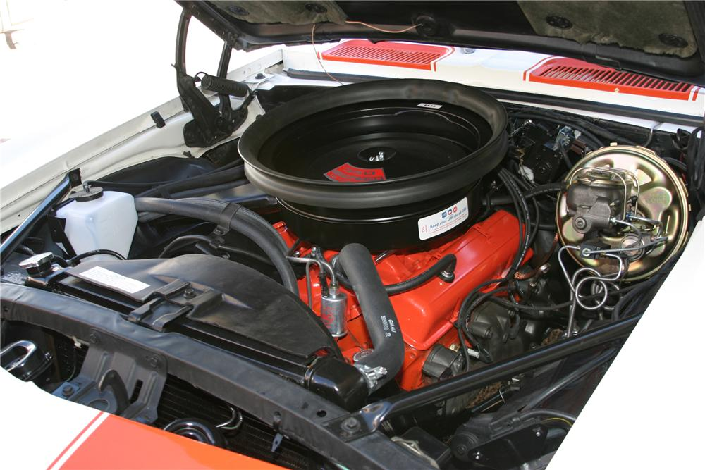 1969 CHEVROLET CAMARO INDY PACE CAR CONVERTIBLE - Engine - 96658