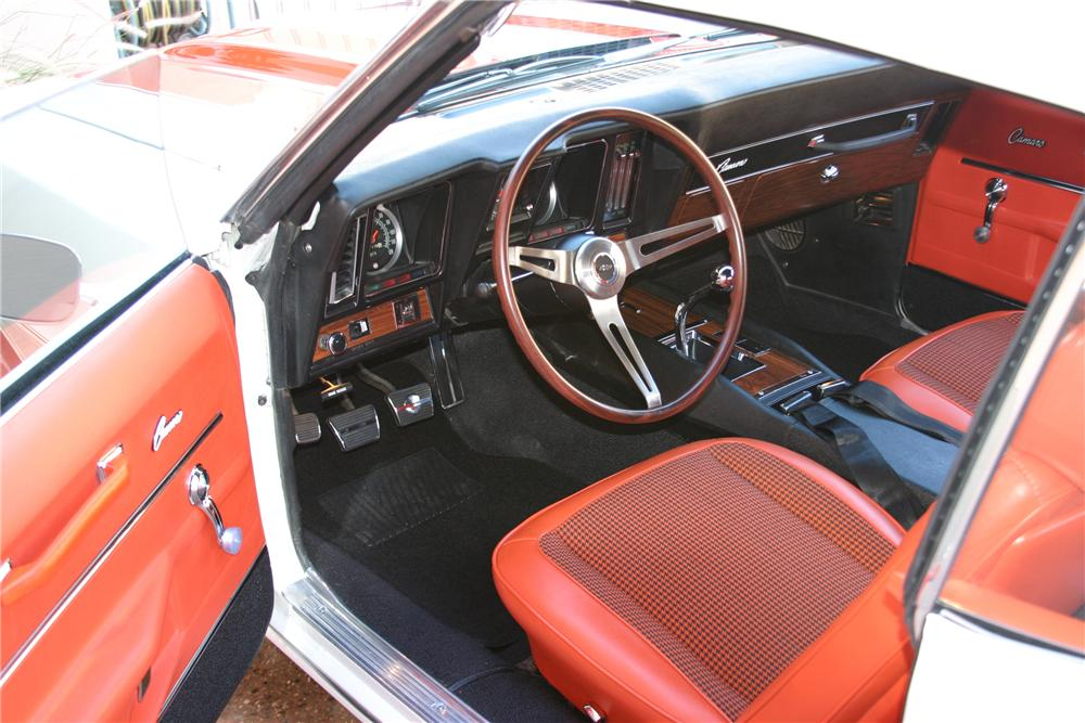 1969 chevrolet camaro indy pace car convertible 96658. Black Bedroom Furniture Sets. Home Design Ideas