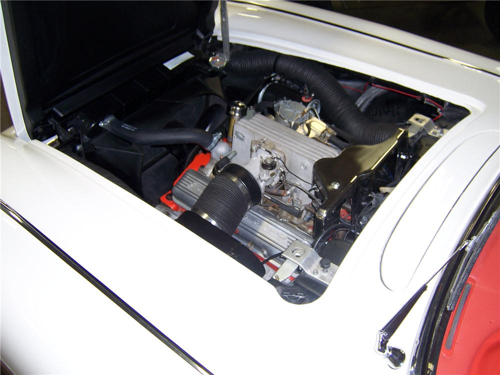 1958 CHEVROLET CORVETTE CONVERTIBLE - Engine - 96666