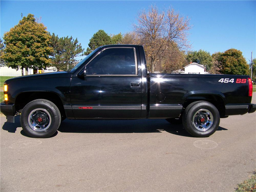 1990 CHEVROLET 454SS PICKUP - Side Profile - 96667