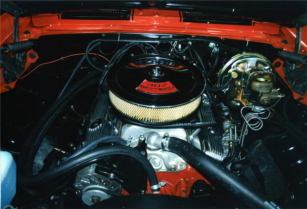 1969 CHEVROLET CAMARO Z/28 COUPE - Engine - 96689