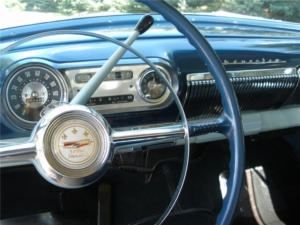 1954 CHEVROLET BEL AIR 2 DOOR SEDAN - Interior - 96690