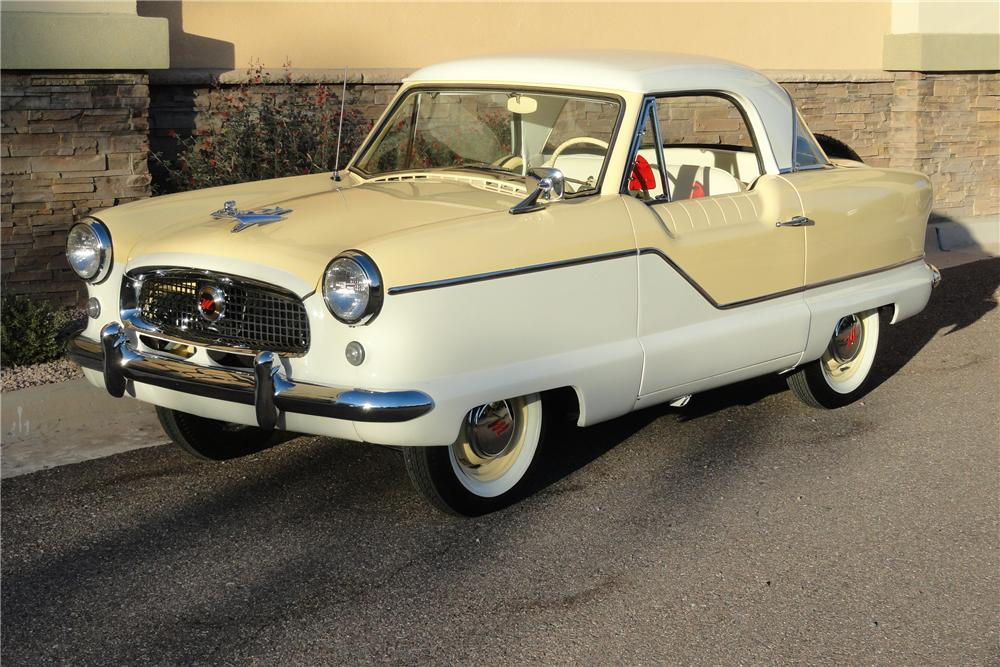 1959 NASH METROPOLITAN 2 DOOR COUPE - Front 3/4 - 96694