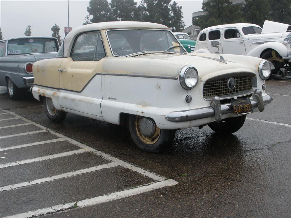 1959 NASH METROPOLITAN 2 DOOR COUPE - Side Profile - 96694