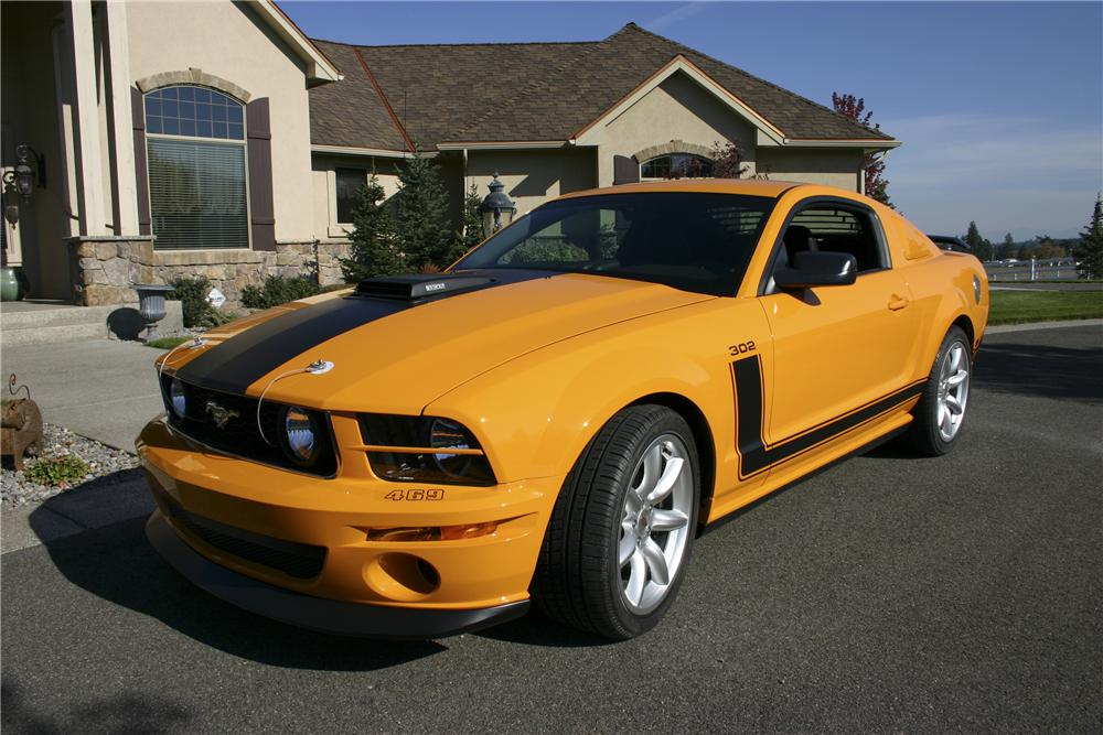 2007 FORD MUSTANG SALEEN PARNELLI JONES LIMITED EDITION - Front 3/4 - 96695